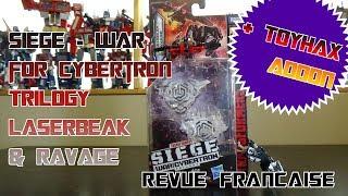 [Francais] Revue Video des Siege Lazerbeak & Ravage PLUS Toyhax addon