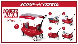 Radio Flyer 5-in-1 Family Wagon™