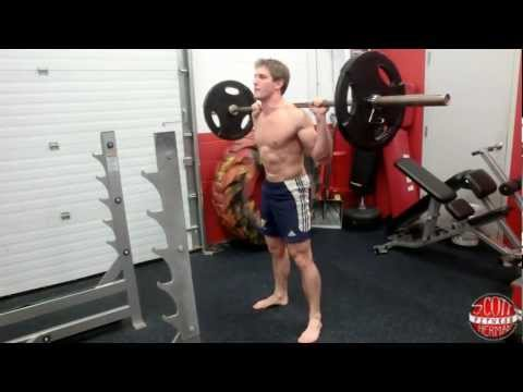 How To: Deep Barbell Back Squat Image 1