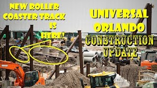 Universal Orlando Resort New Harry Potter Coaster / Show Construction Update 5.20.18 TRACK'S HERE!