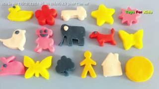 NẶN ĐẤT SÉT hình con vật đáng yêu cho bé/ Play-Doh - Đồ chơi đất sét