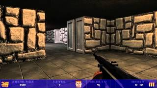 Wolfram: A Modern Wolfenstein 3D Remake Gameplay HD