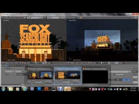 How To Make Your Own 20th Century Fox Intro video
