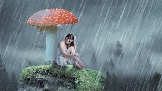 Fantasy rain photo manipulation | photoshop tutorial cc