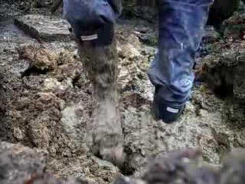 sticky mud