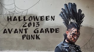 Halloween 2013: Avant Garde PUNK (Louis Vuitton 2014 inspired)