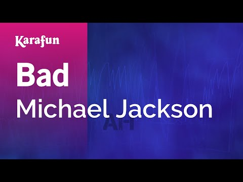 Karaoke Bad - Michael Jackson * video