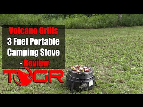 Volcano Grills 3 Fuel Portable Camping Stove - Review