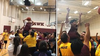 Teen With Cerebral Palsy Scores First Basket