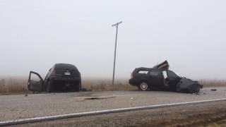 Saginaw Crash Team investigates head-on crash