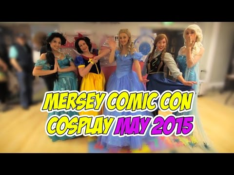 Mersey Comic Con Cosplay May 2015