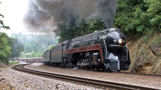 N&W 611 Reborn: Roanoke Excursions 7/3-7/4-7/5