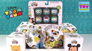 Disney Tsum Tsum Nightmare Before Christmas Palooza Opening Toy Review | PSToyReviews