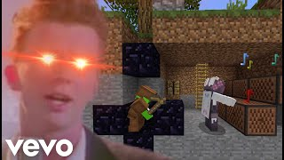 Download lagu Minecraft: Trapping then Rick Rolling people in Ultra Hardcore