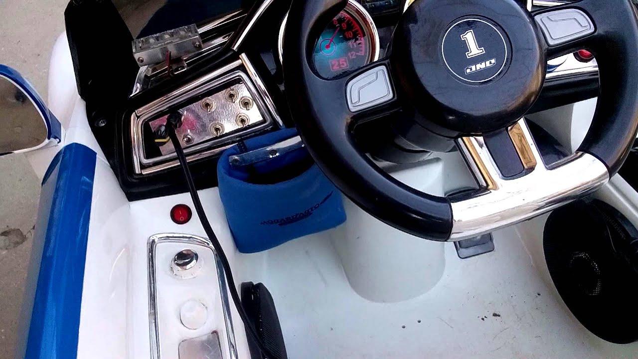 Тюнинг своими руками электромобиля