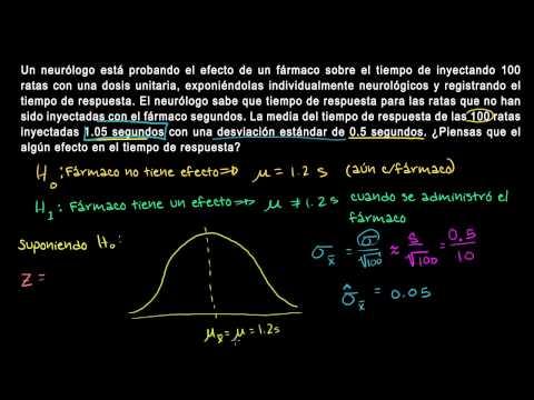 Prueba de hipótesis y valores P