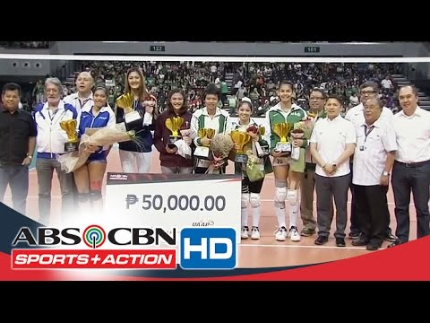 UAAP 78: Special Awards Women's Division