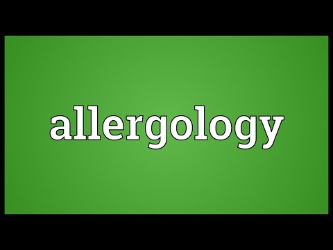 Header of Allergology
