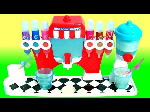Soda Dispenser Yummy Nummies Mini Kitchen Magic Soda Shoppe Maker DIY Make Your Own Soda Pop