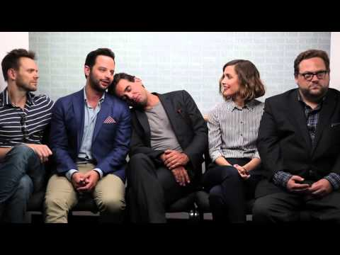 Joel McHale, Nick Kroll, Bobby Cannavale, Rose Byrne, & Ross Katz talk ADULT BEGINNERS at Tiff