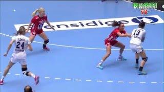 Norway VS Russia 22nd IHF Women's Handball Championship 2015 Preliminary round