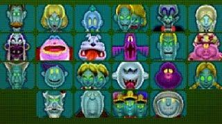 Luigi's Mansion 3DS - All Platinum Portraits Boss Rush (No Damage)