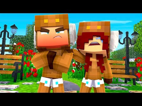 Minecraft Daycare - BABY BREAKS UP WITH GIRLFRIEND! w/ MooseCraft (Minecraft Kids Roleplay)