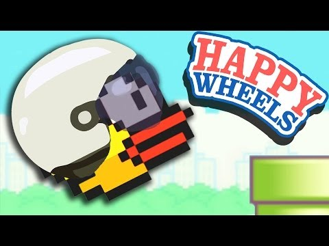 FLAPPY BIRD - Happy Wheels