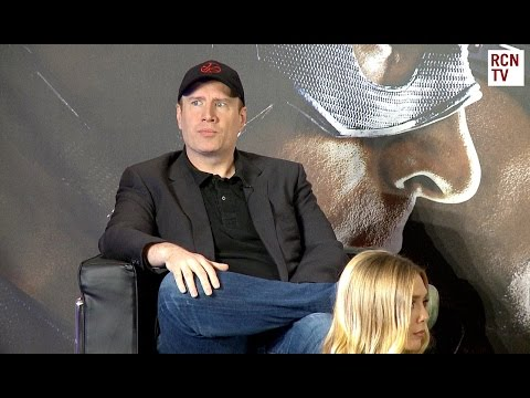 Kevin Feige Interview - Civil War & Black Panther
