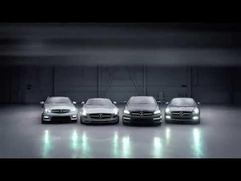 Креативная реклама Mercedes-Benz