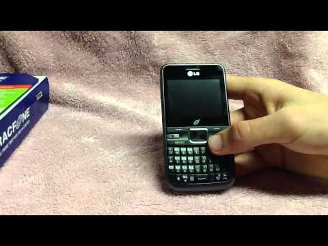 LG530G Cell Phone Review/Overview - Tracfone