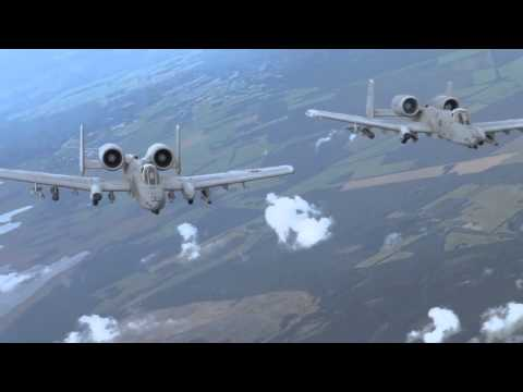 A-10s and F-22s together
