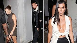 Kourtney Kardashian Has Dinner With Scott Disick And Sofia Richie! HELL Has Frozen Over!