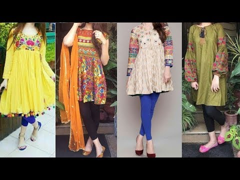 Latest Kurti/Kurta Design To Wear With Jeans In 2018||Women Fashion Design||Kurti With Jeans