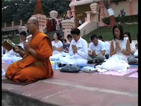 Women officers from Thailand offer peace prayers at Buddhist shrine in eastern India