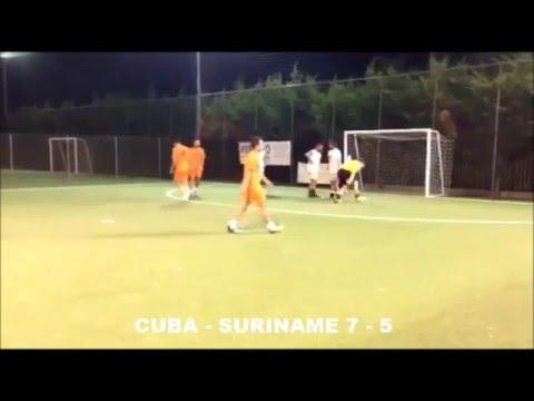 SINTESI OTTAVI COPPA CHOLA CUBA - SURINAME