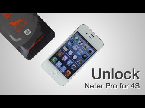 Neter Pro Sim - How to unlock CDMA Sprint iPhone 4S