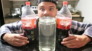 WHAT HAPPENS WHEN YOU MIX COKE AND BLEACH? *EXPERIMENT*