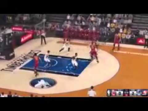 NBA 2K14 Xbox 360 Denver Nuggets vs Dallas Mavericks No Commentary