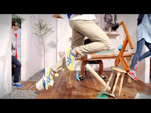 Onitsuka Tiger SS13 campaign film – Craft of Movement