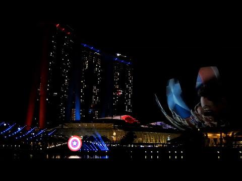 Captain America In Singapore