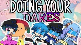 DOING YOUR DARES! (Gachalife Funny)