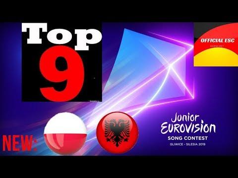 Junior Eurovision 2019 - My Top 9 - NEW: Albania
