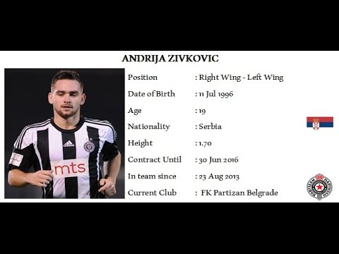 Andrija Zivkovic - Wings of Serbia - Fenerbahce, Galatasaray, Benfica, BVB New Transfer ?