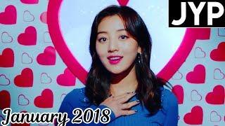 [TOP 30] Most Viewed JYP MVs [January 2018]