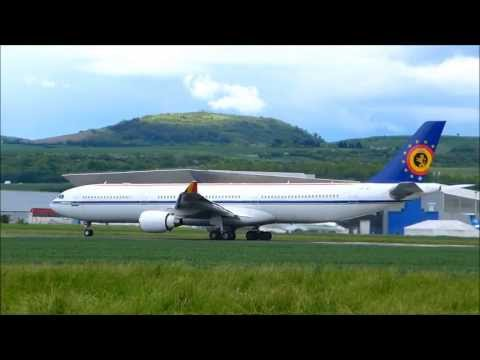 Airbus A330-300 Belgian Air Force / HiFly at Clermont-Fd Auvergne Airport CFE-LFLC