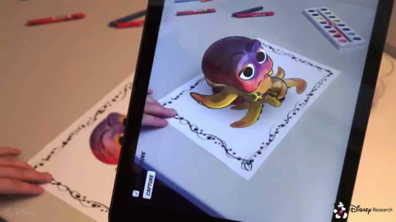 [Augmented Reality Coloring Book] Video