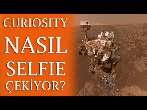 Curiosity Nasıl Selfie Çekiyor?
