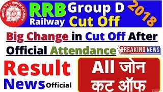 Railway Group D Cut oFF 2018 | Physical Date | Attendance | RRB Group D Expected Cut Off , Result