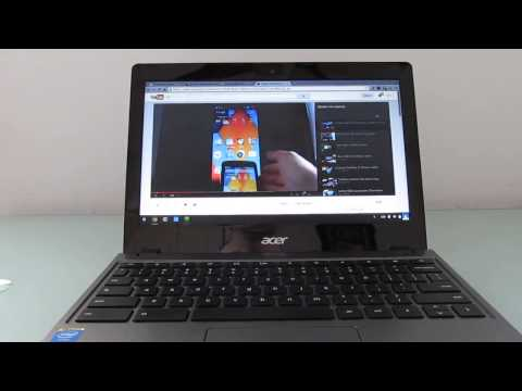 Acer C720 Chromebook with Core i3 Haswell review